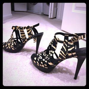 Diane von Ferstunberg strappy heels